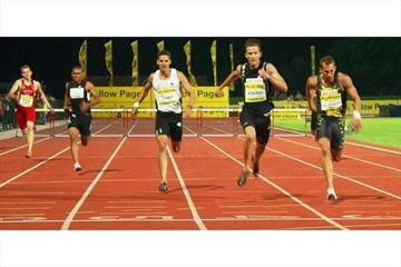 Ter De Villiers and Alwyn Myburgh battle in Tshwane (IAAF.org)