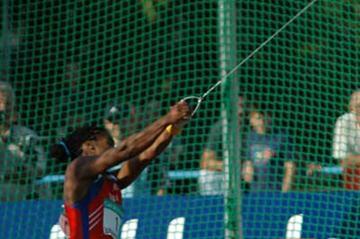 Yipsi Moreno in action (IAAF)