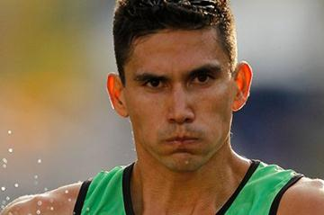 Horacio Nava en route to Pan Am gold in the 50Km Race Walk in Guadalajara (Getty Images)