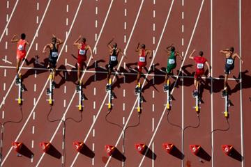 The start of the decathlon 100m at the IAAF World Championships, Beijing 2015 (Getty Images)