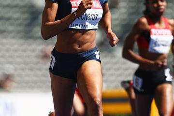 USA's Sanya Richards begins her attack on what could be her first gobal title (Getty Images)