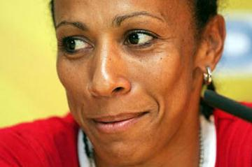 Kelly Holmes at the World Athletics Final press conference (Getty Images)