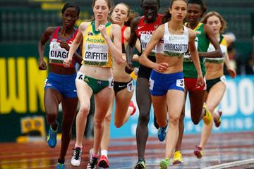 Anita Hinriksdottir in the 800m at the 2014 IAAF World Junior Championships in Eugene (Getty Images)