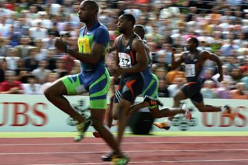 Asafa Powell's 9.77 in Zurich (Getty Images)