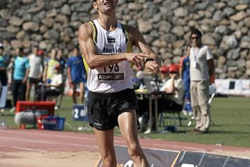 'Paquillo' Fernández walks to world best at 10,000m race walk at 2008 Spanish champs (Julio Fontán)