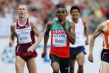 Kenyan 800m runner Jackson Kivuva (Getty Images)