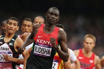 David Lekuta Rudisha of Kenya leads the pack in the Men's 800m Semifinals on Day 11 of the London 2012 Olympic Games at Olympic Stadium on August 7, 2012  (Getty Images)