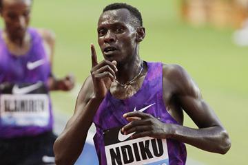 Kenyan distance runner Caleb Ndiku (AFP / Getty Images)