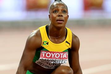 Veronica Campbell-Brown in the 200m at the IAAF World Championships, Beijing 2015 (Getty Images)