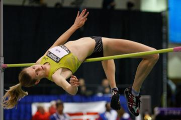 Amy Acuff nabs her fourth US indoor title in Boston (Getty Images)