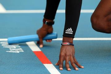 Relay baton (Getty Images)