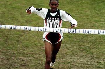 Jackline Maranga (KEN) wins in Belfast (Getty Images)
