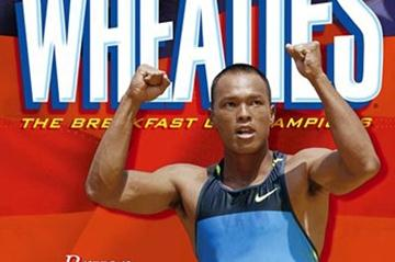 Olympic champion Bryan Clay on the wheaties cereal box (Freelance)