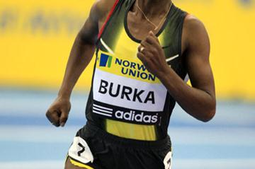 Solid victory for Gelete Burka in Birmingham in 2008 (Getty Images)
