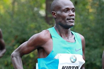 Mark Kiptoo in action at the 2013 BMW Frankfurt Marathon (Photorun / organisers)