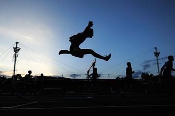 A 400m hurdler in action (Getty Images)