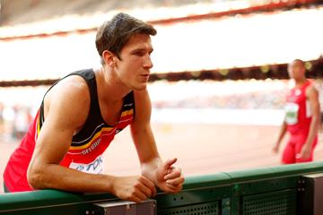 Belgian decathlete Thomas van der Plaetsen at the IAAF World Championships, Beijing 2015 (Getty Images)