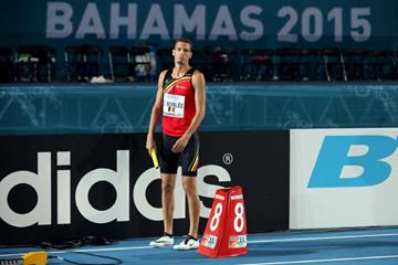 Dylan Borlee at the IAAF/BTC World Relays, Bahamas 2015 (Getty Images)