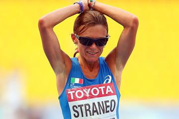 Italian distance runner Valeria Straneo (Getty Images)