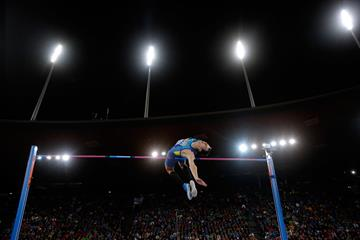 Bogdan Bondarenko wins the high jump at the European Championships (Getty Images)