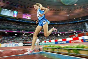 Jukka Keskisalo in the World Steeplchase final in Paris (Getty Images)