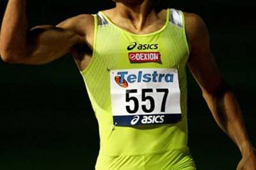 John Steffensen after his lopsided victory over LaShawn Merritt in Sydney (Getty Images)