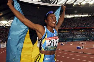 Debbie Ferguson celebrates Commonwealth Games win (Getty Images)