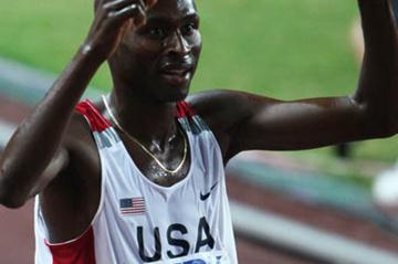 Bernard Lagat celebrates winning 5000m gold in Osaka (Getty Images)
