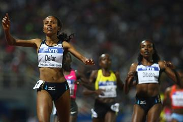 Meseret Defar bounces back from disappointment at the World Championships with a victory over 5000m in Thessaloniki (Getty Images)