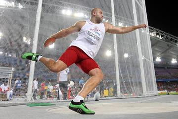 Piotr Malachowski of Poland in action at the 2011 World Championships in Daegu (Getty Images)