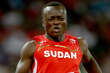 Sudanese sprinter Ahmed Ali (Getty Images)