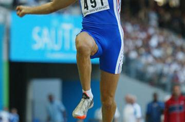 Salim Sdiri - French indoor record holder for LJ (Getty Images)