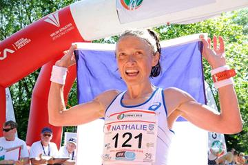 Nathalie Mauclair, winner of the 2013 IAU Trail World Championships (Organisers)