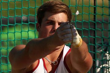 Australian thrower Matthew Denny in action (Getty Images)