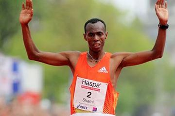 Shami Dawit clocks a 2:05:58 course record in Hamburg (Hamburg Organisers)