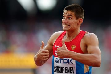 Ilya Shkurenyov at the IAAF World Championships, Beijing 2015 (Getty Images)
