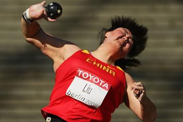 China's Xiangrong Liu goes through to the final of the women's Shot Put (Getty Images)
