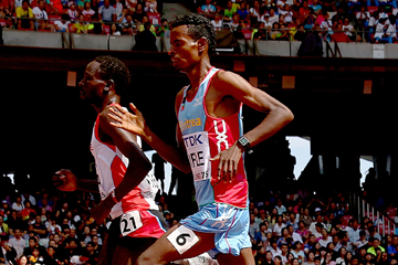 Eritrean distance runner Aron Kifle (Getty Images)