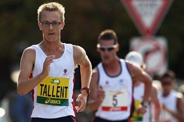Jared Tallent opens 2010 with a 20km PB in Hobart (Getty Images)
