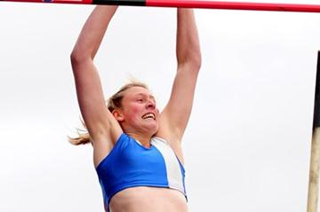 Holly Bleasdale set a national record at the 2012 UK Trials (Getty Images)