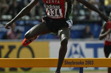 Ronald Kipchumba Rutto of Kenya winning the 2000m steeplechase (Getty Images)