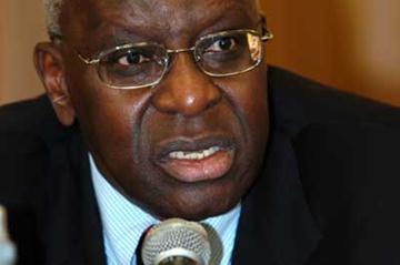 President Lamine Diack (IAAF)
