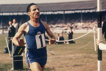 French distance runner Alain Mimoun (Getty Images)