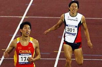 Meng Yan of China, Asian Games 400m Hurdles silver medallist, one of the 13 repeat winners in the Asian GP (Getty Images)