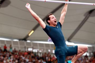 Renaud Lavillenie at the 2013 IAAF Diamond League in London (Victah Sailer )