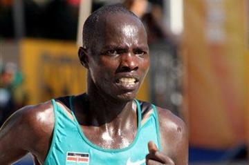 Gilbert Masai in Kavarna 2012, IAAF World Half Marathon (Bob Ramsak/IAAF)