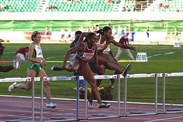 Brigitte Foster in Madrid (IAAF)