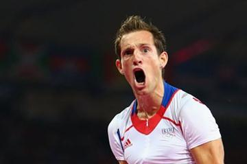 Renaud Lavillenie of France won the gold medal in the Men's Pole Vault Final of the London 2012 Olympic Games on August 10, 2012 (Getty Images)