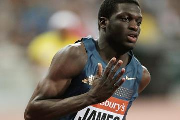 Grenadian sprinter Kirani James in action (Getty Images)