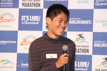 Yuki Kawauchi ahead of the 2016 Gold Coast Marathon (Organisers)